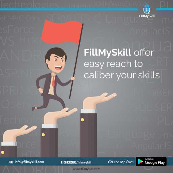 Fillmyskill install, register and explore for better future
