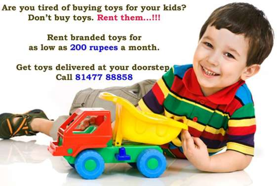 Toys on rent in delhi, noida, gurgaon, kolkata, hydrabad and nepal