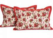 Buy Pillow Covers Online, Made with Quality Cotton for a Classy Look - SwayamIndia