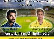 Cricket tips free for india vs australia series