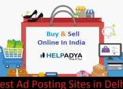 Help adya offer best ad posting sites in delhi, india