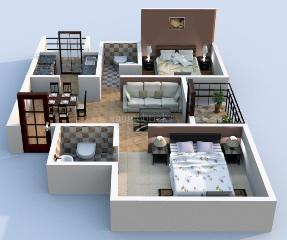 Book my house 2 bhk apaprtment in faridabad