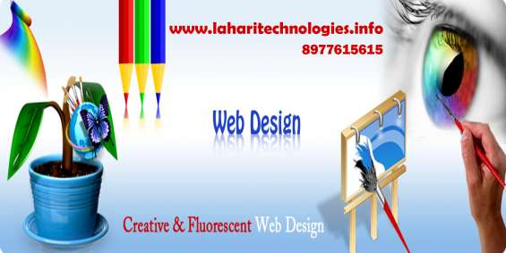 Best web designing services in hyderabad – lahari technologies