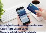 Apply hdfc credit card providers | chandigarh , mohali , panchkula