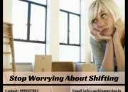 Stop worrying about shifting - packers and movers mumbai