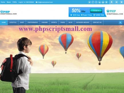 Entrepreneur news portal, news management script - phpscriptsmall