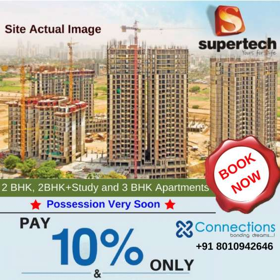 2 bhk / 3 bhk flat / apartment for sale in sector 68 - supertech hues