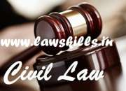 Online certificate in civil pleadings suits and procedures india