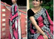 Silk Cotton Sarees for Rs.1980 online on Trendy Handlooms