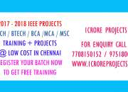 2017 ieee projects with ns2 training in chennai @ 1 crore projects