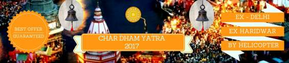 Best 20% discounted chardham yatra 2018 by helicopter