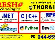 Software Training in Chennai - Nareshit