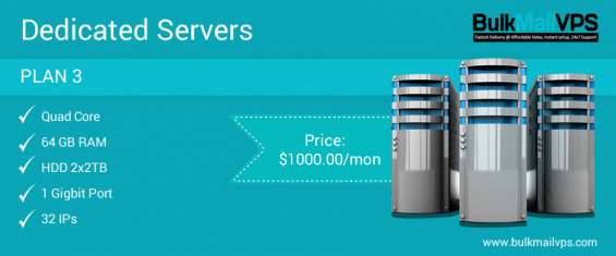 Bulk email server dedicated server, smtp, vps, pmta provider an ideal solution.