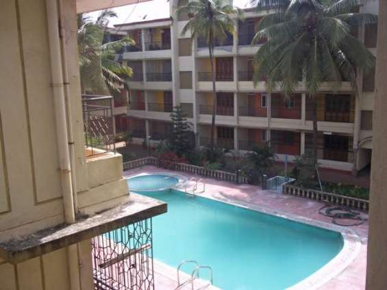 2bhk furnished flat for sale calangute goa