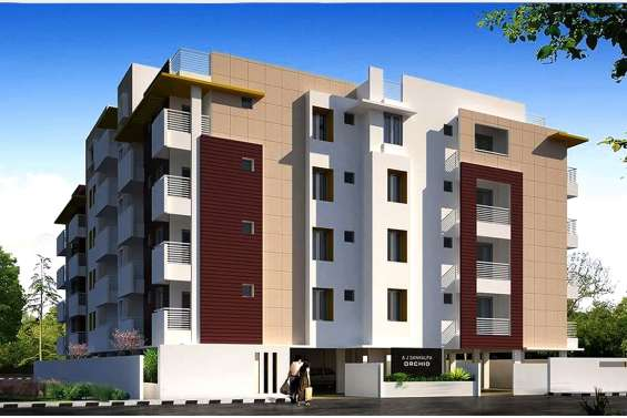 2and 3bhk flats for sale in horamavu main road with spacious a j sankalp orchid-ar venture