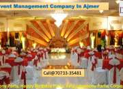 Top event Management Company in Ajmer, Rajasthan
