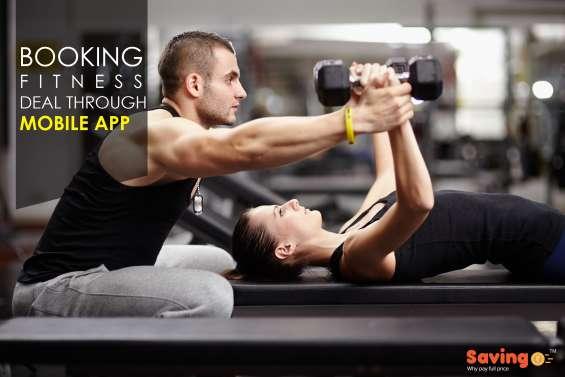 Best health and fitness deals in delhi/ncr  savingo app