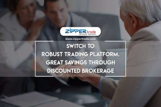 Switch to robust trading platform at best discount brokerage charges