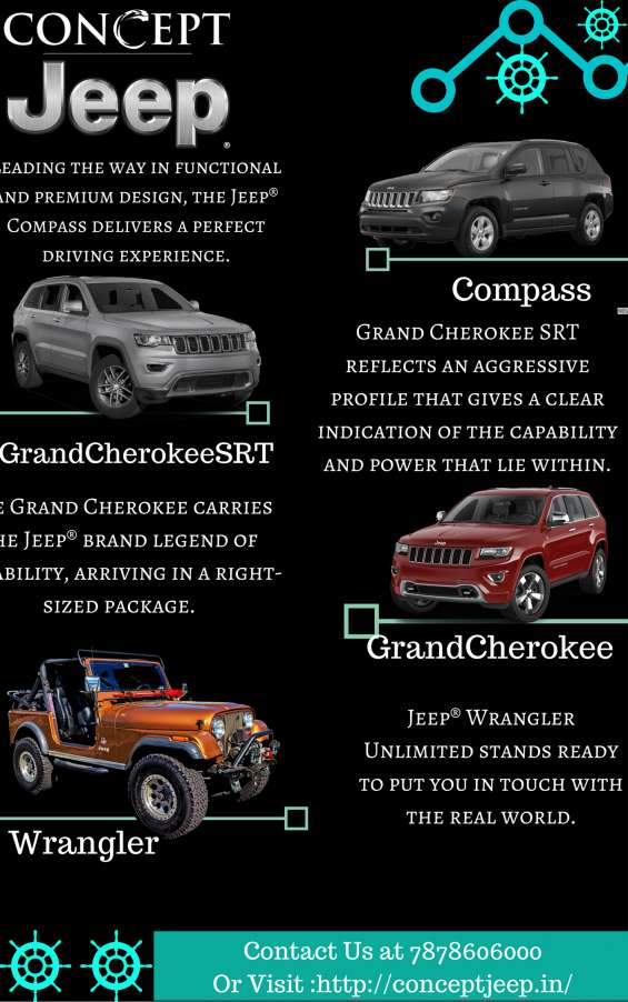 The concept jeep ahmedabad the best car selling company-book your test drive now