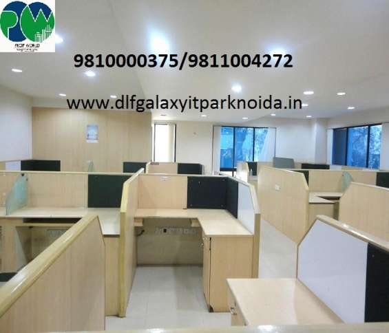 Top quality office space for rent in dlf galaxy it park sector 62 noida