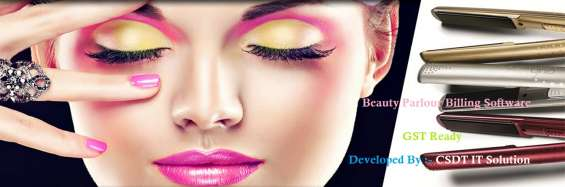 Beauty parlour billing inventory software
