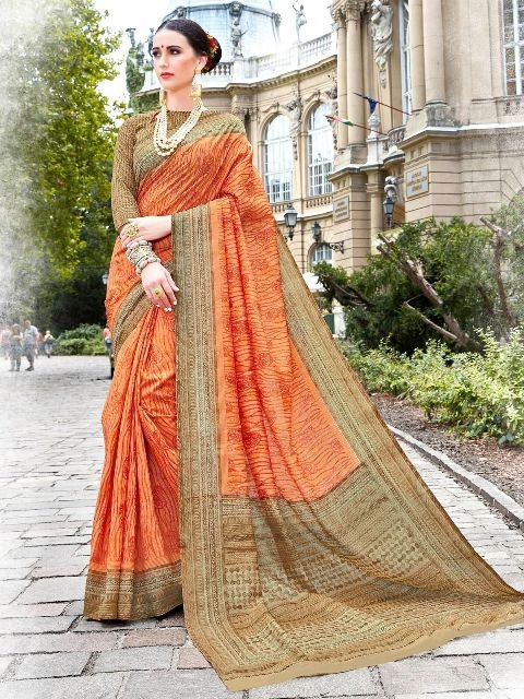 Latest cotton silk sarees