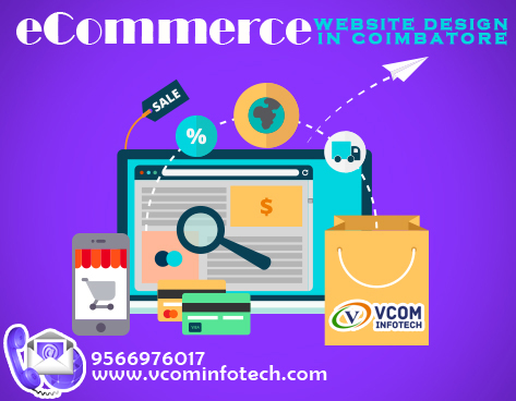 Ecommerce website development in coimbatore
