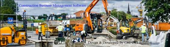 Construction business billing inventory software