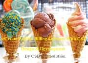IceCream Parlour Billing Inventory Software