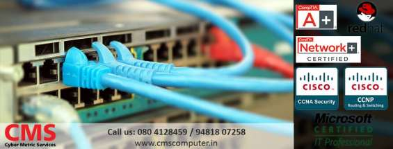Ccna, ccnp, mcitp, rhce certification training in bangalore