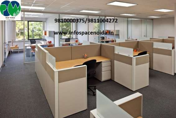 Furnished office space in infospace, sector-62, noida