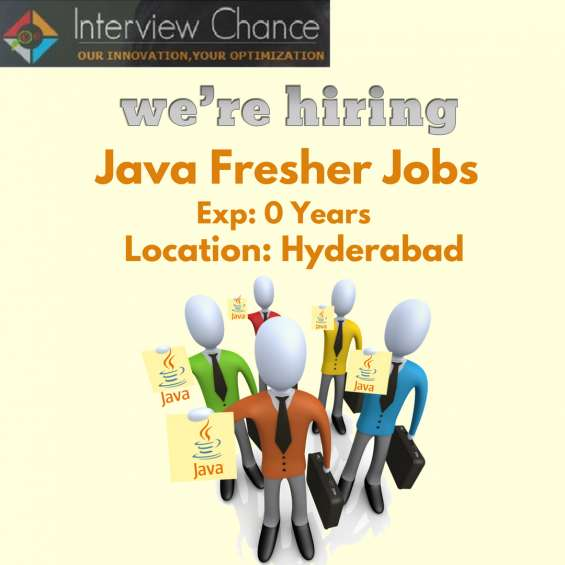 Java developers jobs - fresher jobs - hyderabad location - huge vacancies