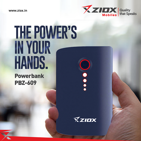 Pbz 609 zelfie, buy ziox power bank online