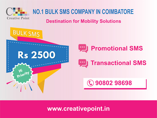 Bulk sms gateway providing company in coimbatore