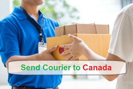 Get the best charges for courier to canada