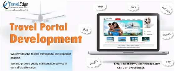 Travel portal development software company- etraveledge