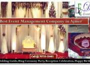 Wedding Organizer and Planners in Ajmer