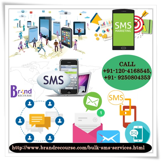 Bulk sms marketing services for promotion at brand recourse