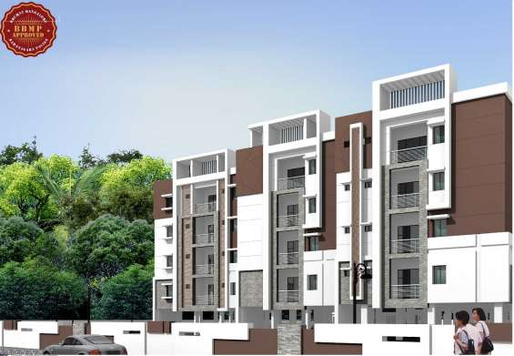 2 & 3 bhk flat for sale in seegehalli call on 9686201040/9844919641