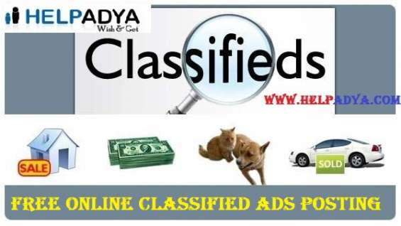 Best free online classified ads posting