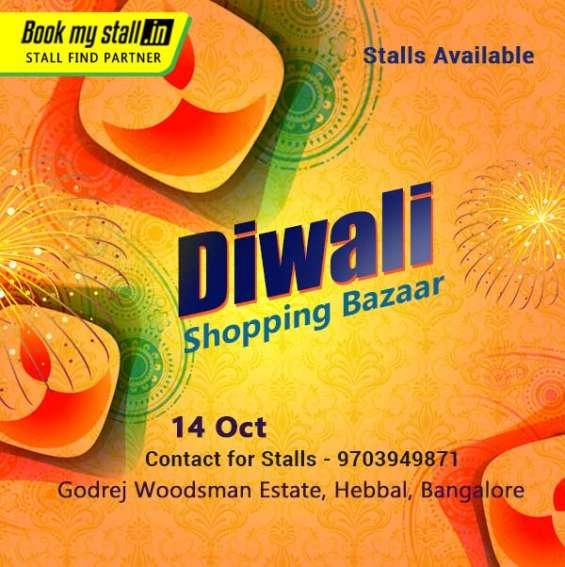 Diwali shopping bazaar in bangalore city