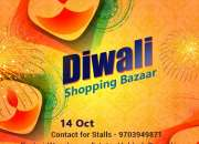 Diwali shopping bazaar in bangalore city