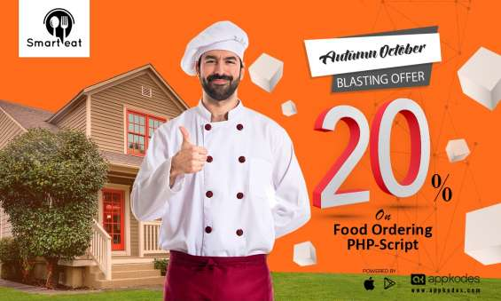 20% restaurant online food order