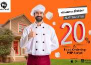 20% Restaurant online food order