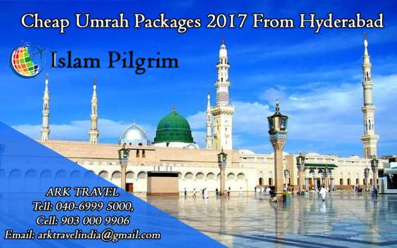 Cheap umrah package hyderabad 2017- 2018
