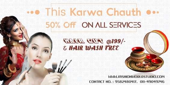Makeup salon near me best women hair salon in karol bagh in