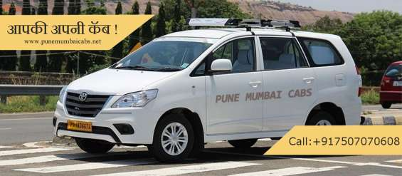 Pune to mumbai cabs available