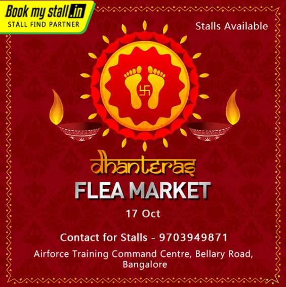 Dhanteras flea market in bangalore