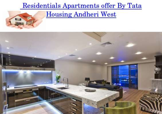 Apartments offer by tata housing andheri west