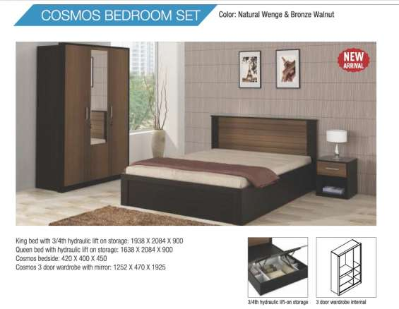 Cosmos bedroom set best offer price - rs.50735